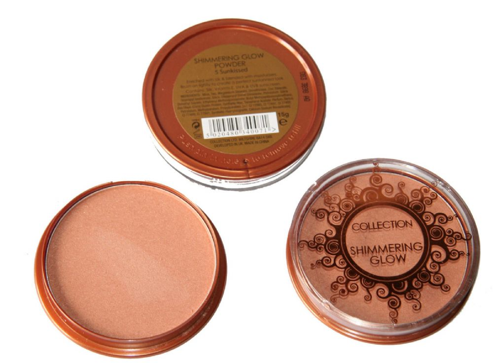36 x Collection Shimmering Glow Powder | Sunkissed | Wholesale cosmetics